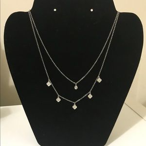 STERLING SILVER LAYERED NECKLACE